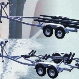 Speed Boat – Double Axle-t