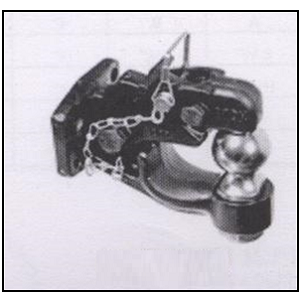 Combination Ball Hitch 10000lbs_Pintle Hook 16000lbs