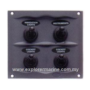 Switch panel BEP splash proof_code00258