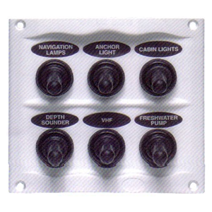 Switch panel BEP splash proof_code01815