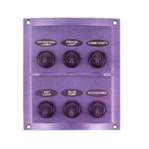 Switch panel spash proof