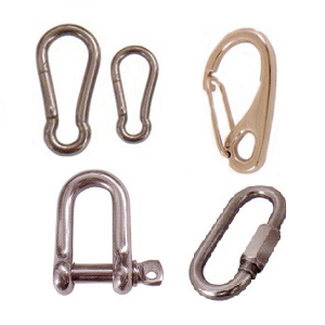 Shackle, Snaps & Fittings